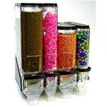 Various bulk food dispensers