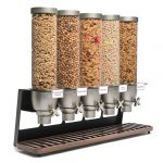 Cereal breakfast buffet stand