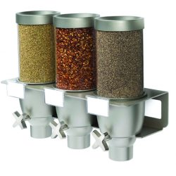 Triple dispenser set 2,5 liter, wall mount