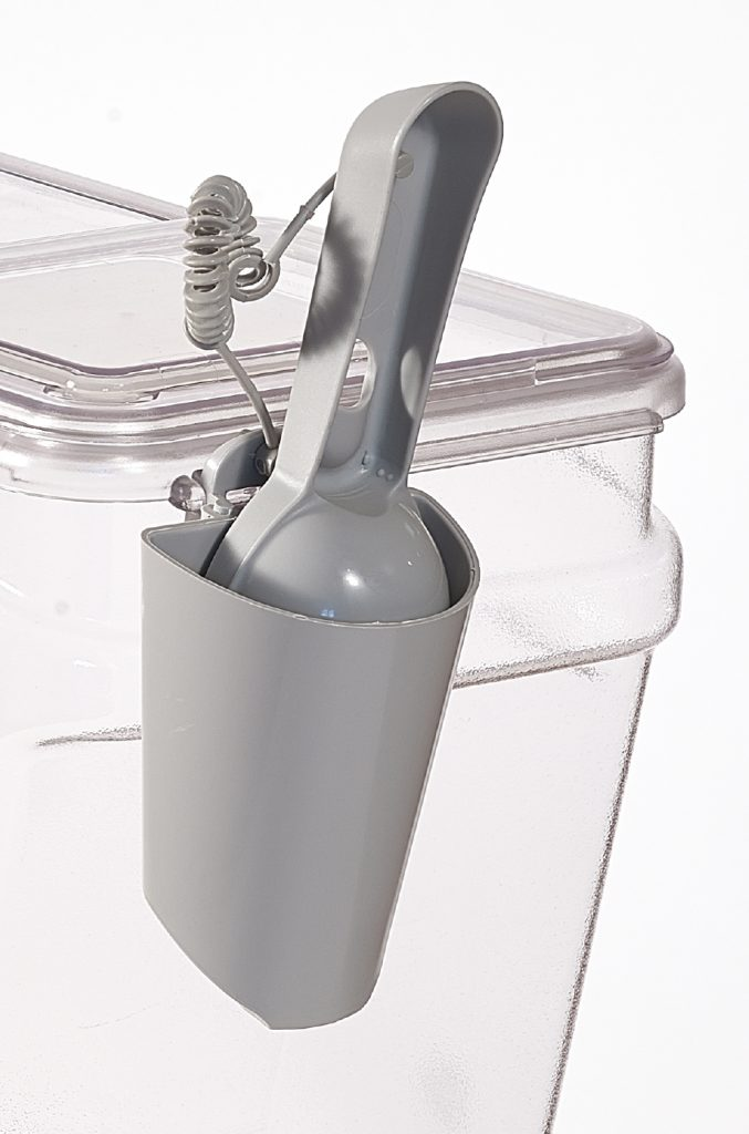 BPA free food scoop plus holder