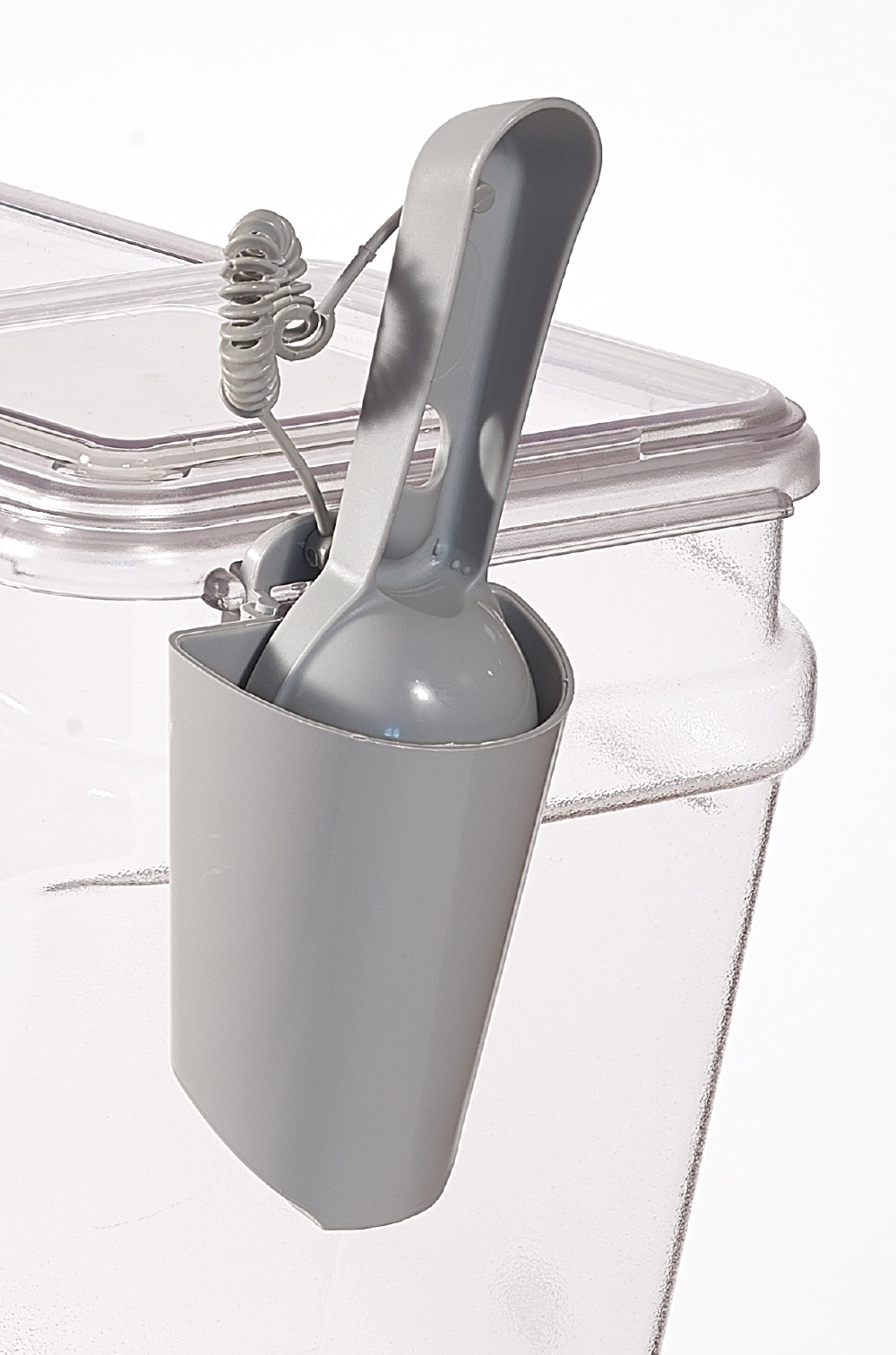 BPA free food scoop plus holder