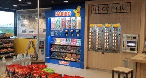 Haribo candy display
